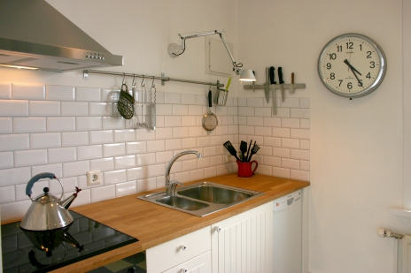 Dishwasher, oven, hob, microwave