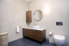 Ensuite bathroom with master bedroom