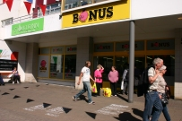 Bonus, supermarket