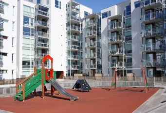 Playground in the back garden
