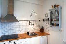 Dishwasher, ceramic hob, oven