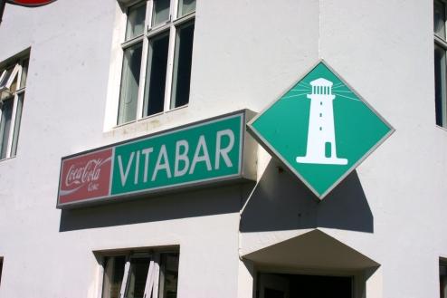 Vitabar on next corner
